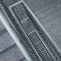 Inline handrail